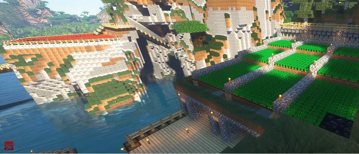 Minecraft World auf einem Minecraft-Server